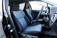 「RS」には、他グレードと異なるスポーツ仕様のフロントシートが与えられる。