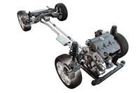 新開発の3リッターV6ユニットは、260psを発生。