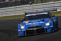 No.12 カルソニックIMPUL GT-R(安田裕信/J.P・デ・オリベイラ組)。最終的にレースを3位で終え、「GT-R」の1-2-3フィニッシュを実現した。