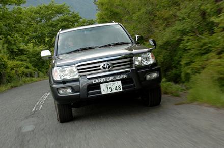 トヨタ ランドクルーザー 100 ワゴン VXリミテッド(5AT)【ブリーフテスト】