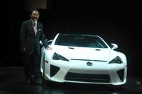 「レクサスLFA」が東京モーターショーでデビュー