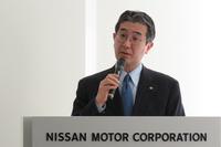 日産自動車の片桐隆夫副社長。