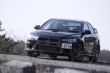 三菱ランサーエボリューションX GSR(4WD/6AT)【ブリーフテスト】