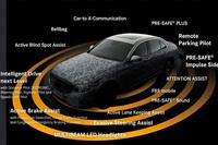 これまでと同様に、次の「Eクラス」にも、最新の安全装備や運転支援システムがたっぷりと盛り込まれることになる。