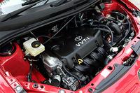 1.5リッターモデルのエンジン。