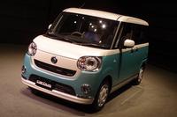 ダイハツの新型軽乗用車「ムーヴ キャンバス」発売の画像