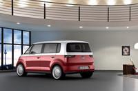 VWの新型ミニバンコンセプト「ブリー」登場【ジュネーブショー2011】の画像