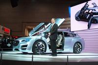 スバル、BRZと新型インプレッサをお披露目【東京モーターショー2011】