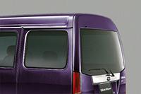 「UVカット機能付濃色ガラス(スライドドア・リヤクォーター・リヤゲート)」