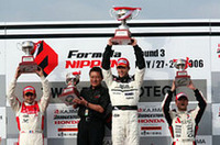 【FN 2006】第3戦もてぎ、読めない天候の下、ロッテラーが移籍後初勝利の画像