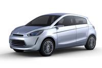 「三菱コンセプト グローバル スモール」。市販モデルは、2012年3月の稼働開始が予定される、三菱自動車のタイ新工場で生産される予定だ。