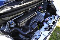"""エンジンには自然吸気とターボの両方が設定されている。写真は「スタイルX""""SA II""""」に搭載される、自然吸気の0.66リッター直3 DOHCエンジン。"""