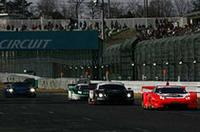 スーパーGTのGT500クラスマシンたちもコースを駆け抜けた。