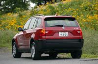 BMW X3 2.5i/3.0i(5AT/5AT)【試乗記】の画像