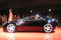 「アルファ8Cコンペティツィオーネ」日本初お披露目、2200万円超の画像