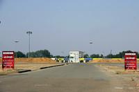 コースに隣接する「アラン・プロスト・カート場」。
