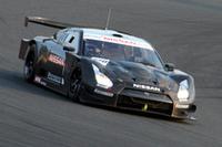 来シーズン用の「GT500仕様GT-R」は、本山哲がドライブ。現行のGT500仕様Zと同じく、駆動方式はFRである。