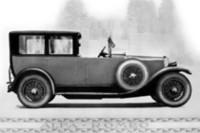 """こちらがアルファ・ロメオの「RL」。1925年式の""""多人数乗車""""、なのです。"""