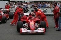もちろんフォーミュラカーも。フェラーリといえば、F1(?)