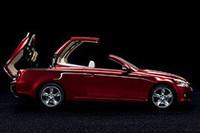 「レクサスIS」のコンバーチブルモデル「IS 250C」を発表【パリサロン08】の画像