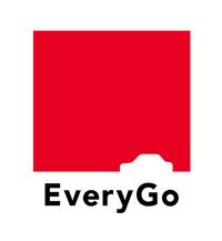 「EveryGo」のロゴマーク。クルマのシルエットが描かれている。