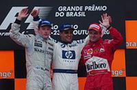 2004年F1最終戦ブラジルGP決勝結果【F1 04】の画像