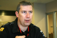 ルノー・スポールでモータースポーツディレクターを務めるジャン-パスカル・ドゥース氏。イベントの責任者だ。