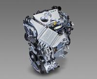 「オーリス120T」に搭載される新開発の1.2リッター直4ターボエンジン。