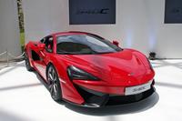 「マクラーレン540Cクーペ」。2015年4月の上海モーターショーで世界初公開された。