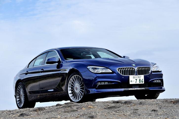 BMWアルピナB6ビターボ グランクーペ アルラット(4WD/8AT)【試乗記】