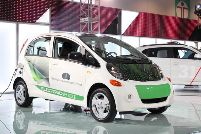 三菱i-MiEV(北米仕様車)