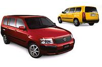 「トヨタ・サクシード」モデリスタ仕様に新色追加の画像