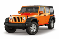 「Jeep Wrangler Unlimited O-range」