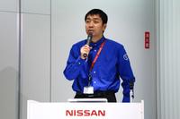 日産名車再生クラブの木賀新一代表。
