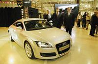新型「アウディ TTクーペ」ハンガリーで生産開始の画像