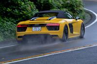 谷口信輝の新車試乗――アウディR8スパイダーV10 5.2 FSIクワトロ(前編)の画像