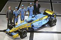 ルノーF1、新型「R24」を発表の画像