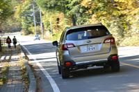スバル・レガシィB4(4WD/CVT)/レガシィアウトバック リミテッド(4WD/CVT)【試乗記】の画像