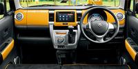 今回の改良により、インテリアのカラーパネルの色は「アクティブイエロー」「ピュアホワイト」「パッションオレンジ」の3色となった。