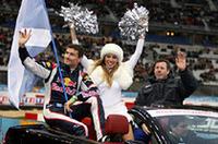 「F1レーシング・チーム・スコットランド」から、デイヴィッド・クルタード(左)とコリン・マクレー。