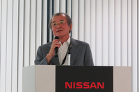 R33、R34世代の「日産スカイライン」の商品主管を務めた渡邊衝三氏。