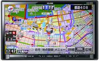 9型ディスプレイの大画面ナビ「AVN-ZX03i」。