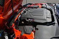 550psを絞り出す5リッターV8スーパーチャージドエンジン。