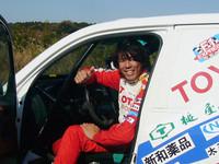 オートバイでのパリダカ参戦経験もある、三橋淳選手。