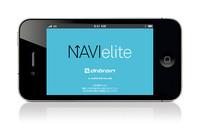 カーナビアプリ「NAVIelite」に便利機能追加の画像