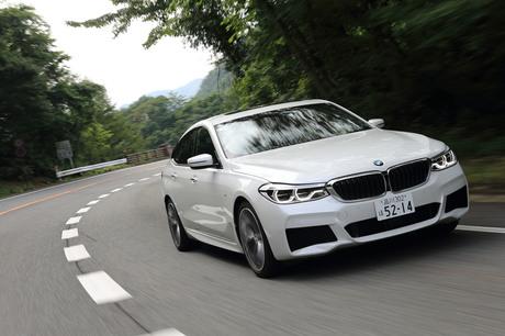 「BMW 6シリーズ グランツーリスモ」に試乗。5mを優に超えるビッグサイズのボディーにハッチゲートを備えた...