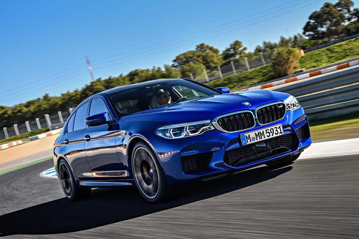 BMW M5(4WD/8AT)【海外試乗記】