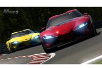 「FT-1」はドライビングシミュレーションゲーム『グランツーリスモ6』にも登場する。(写真=トヨタ)