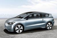 リッター40km以上! VWが新コンセプトカー「Up!Lite」を発表【LAショー09】