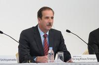 BMWのクラウス・ドレーガー開発担当上級副社長。